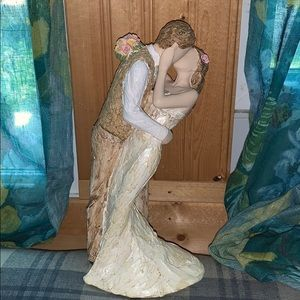 "Nwt. Loving Embrace 10"" wedding couple from UK"